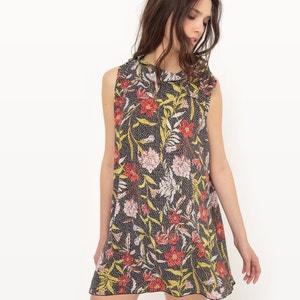 Floral Print Shift Dress MOLLY BRACKEN