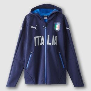 Sudadera con cremallera y capucha ITALIA PUMA