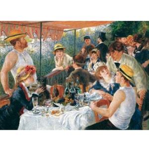 Puzzle en bois - Art maxi 50 pièces - Renoir : Le déjeuner des canotiers PUZZLE MICHELE WILSON