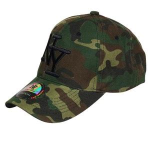 Casquette NY armée tachetée CHAPEAU-TENDANCE