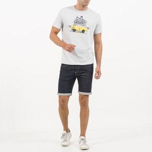 T-shirt met ronde hals en korte mouwen OXBOW