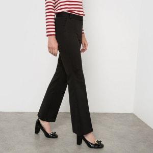 Pantalon bootcut polycoton La Redoute Collections
