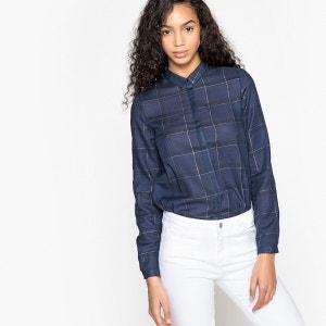 Tunique  droite col polo,  chemise La Redoute Collections