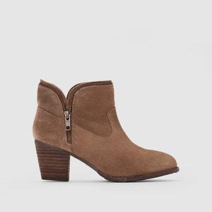 Boots cuir suédé à talon Kent HUSH PUPPIES