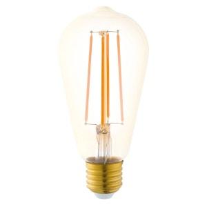 Ampoule LED filament Edison E27 1700K 4W = 40W 300 Lumens -  Eglo designé par EGLO LIGHTING
