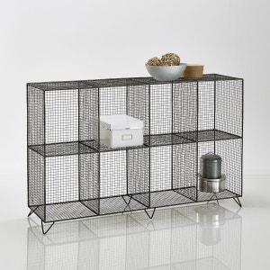 Étagère en métal filaire 8 casiers, Aréglo La Redoute Interieurs
