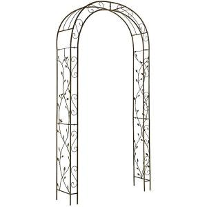Arche en fer aspect vieilli Nature GARDMAN