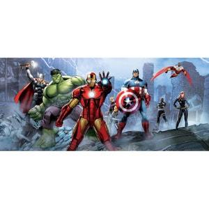 Poster géant équipe Avengers Marvel 202X90 CM WALLTASTIC