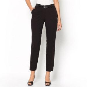 Pantalon droit, 7/8ème, confort stretch ANNE WEYBURN