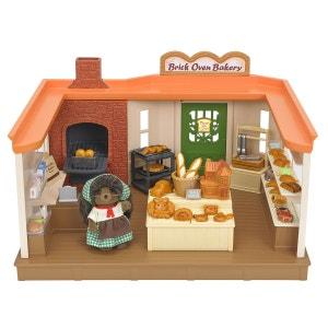 Sylvanian Families - Boulangerie Traditionnelle Et Figurine - EPO5237 SYLVANIAN FAMILIES