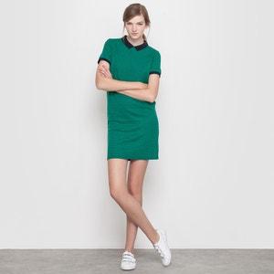 Kleid, Baumwoll-Stretch, Schachbrettmuster MADEMOISELLE R