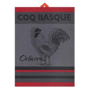 Essuie-mains Arnaga Coq Basque JEAN-VIER