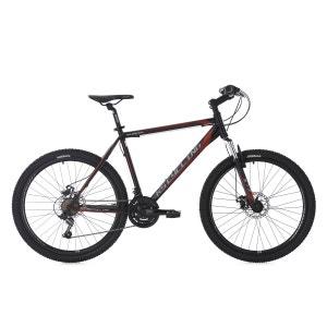 VTT semi-rigide 26'' Sharp noir-rouge TC 51 cm KS Cycling KS