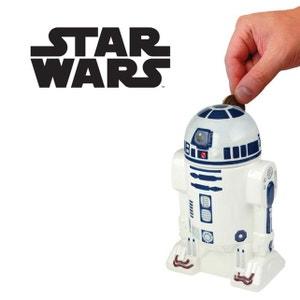 Tirelire R2D2 Star Wars Céramique KAS DESIGN