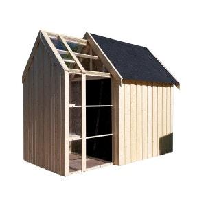 Abri de jardin bois Vertigo Serre 28 mm - 5,34 m² DECOR ET JARDIN