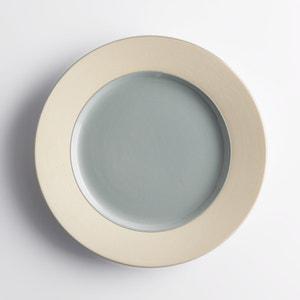 Комплект из 4 мелких тарелок из керамики Warota La Redoute Interieurs