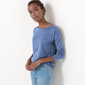 Loose Fit Linen T-Shirt R essentiel