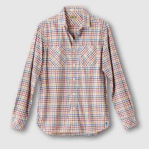 Chemise à carreaux, coupe slim MCS