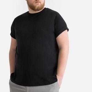 T-shirt met ronde hals en korte mouwen, grote maat