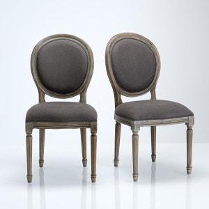 Chaise tabouret banc en solde la redoute for Chaise medaillon solde