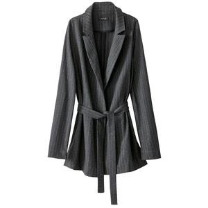 Veste tailleur rayée atelier R