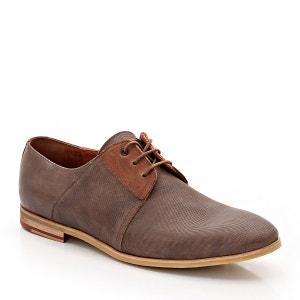 Zapatos Derbys Bouclier 45, con cordones, de piel KOST