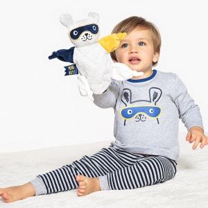 Pyjama manches longues, lot de 2, 0 mois - 3 ans La Redoute Collections