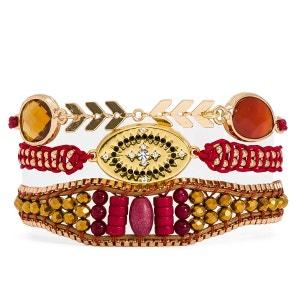 Bracelet femme rouge Pipa-Link HIPANEMA