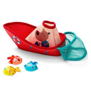 Jouet de bain : Bateau de pêche LILLIPUTIENS