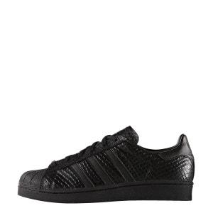 Baskets Femme ADIDAS Superstar reptile-40-Blanc Blanc adidas