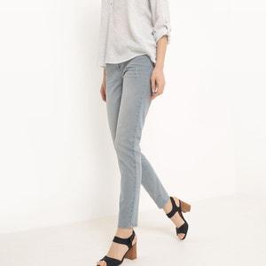 Skinny jeans, uitgerafeld ESPRIT
