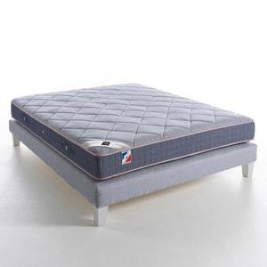 Sommier tapissier à lattes recouvertes, H26 cm, luxe grand confort, Soma AM.PM.