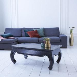 Table basse en bois d'acajou 100x60 Opium Aka TIKAMOON