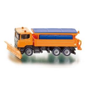 Modèle réduit en métal : Camion chasse-neige SIKU