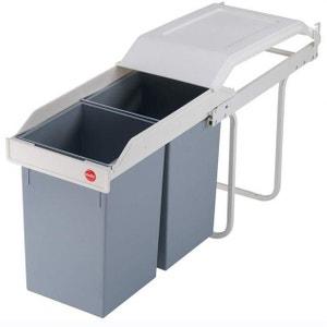 Mobilier et rangement cuisine la redoute - Hailo poubelle encastrable cuisine ...