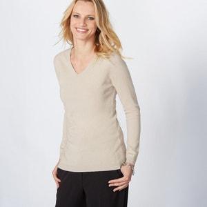 Cashmere V-Neck Jumper/Sweater ANNE WEYBURN