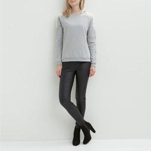 Sweatshirt mit Spitzendetail VILA