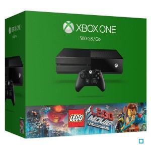 Console Xbox One (500 Go) Noire + LEGO Movie The Videogame XBOX One MICROSOFT