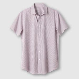 Short-Sleeved Shirt, Length 3 (Height over 1.87m) CASTALUNA FOR MEN