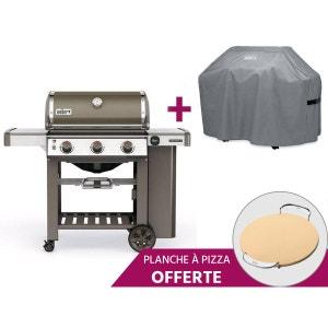Barbecue Genesis II E-310 GBS + Pierre à Pizza + Housse - Weber WEBER