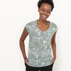 Camiseta con estampado de vegetación R essentiel