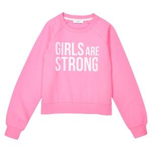 Short Sweatshirt, 10-16 Years La Redoute Collections