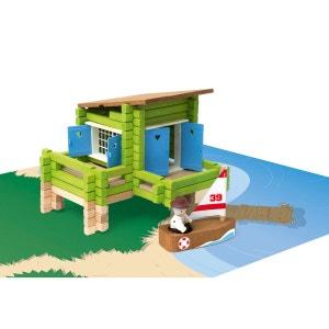 La maison sur pilotis en bois : 100 pièces JEUJURA
