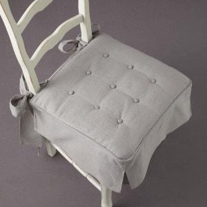 Cojín de galleta para silla de retor de lino/algodón, Jimi La Redoute Interieurs