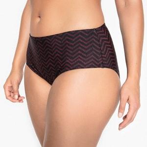 Steunende bikini slip met hoge taille CASTALUNA