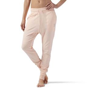 Pantalon de survêtement en coton à taille haute REEBOK CLASSICS