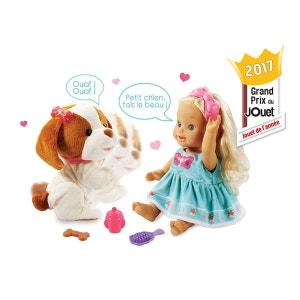Poupée et chien Little Love : Lou joue avec son toutou VTECH