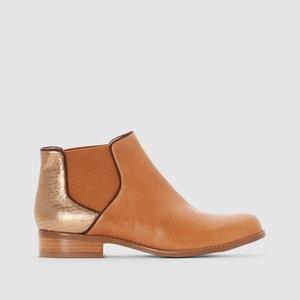 Boots en cuir ALBERT MELLOW YELLOW