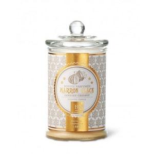 Bougie parfumée bonbonnière 55h marron glacé BOUGIES LA FRANÇAISE