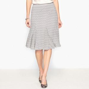 Falda estampada de punto ligero ANNE WEYBURN